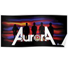 Aurora Band Poster