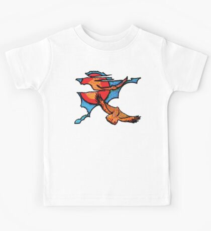 hawk in the sky Kids Clothes
