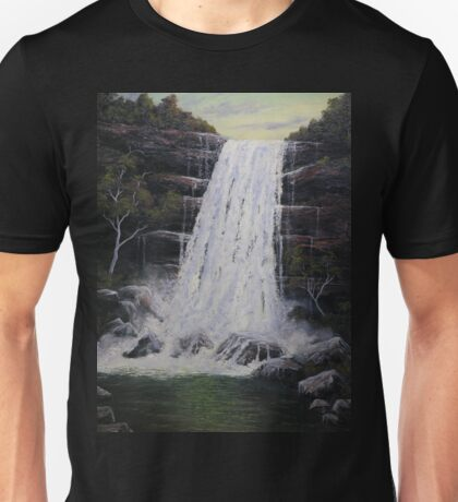 Waterfall In Motion Unisex T-Shirt