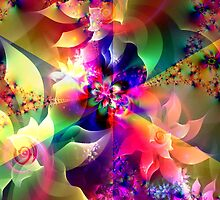 Flowers of Divine Light by Brian Exton
