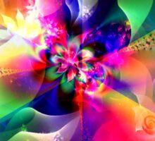 Flowers of Divine Light Sticker