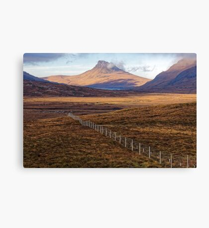 Scottish Moorland and Mountain Canvas Print