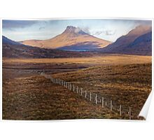 Scottish Moorland and Mountain Poster