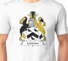 Lawson Coat of Arms / Lawson Family Crest Unisex T-Shirt