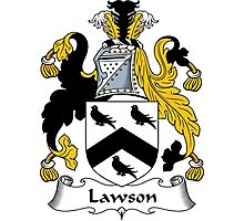 Lawson Coat of Arms / Lawson Family Crest Photographic Print