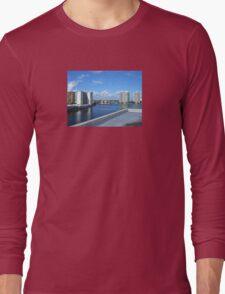 Miami Coast Buildings Long Sleeve T-Shirt
