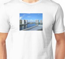 Miami Coast Buildings Unisex T-Shirt