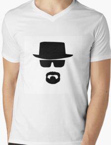 Heisenberg Breaking Bad Mens V-Neck T-Shirt