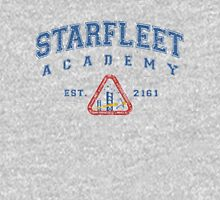 Star Fleet Academy Dark Vintage Womens Fitted T-Shirt
