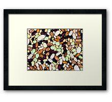Ten Beans Framed Print