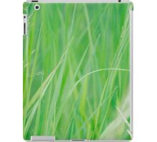 Green and Tall iPad Case/Skin