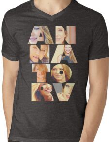 Anna Torv  Mens V-Neck T-Shirt