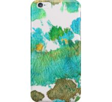 Green Earthy Abstract - Earth Dance - Sharon Cummings iPhone Case/Skin