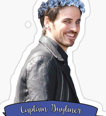 Hook - Captain Guyliner Sticker