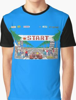 Out Run Graphic T-Shirt