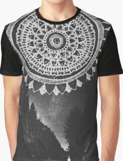Mandala  Outdoor Night Sky Graphic T-Shirt