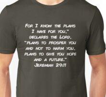 Jeremiah 29:11 Unisex T-Shirt