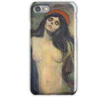 Edvard Munch - Madonna. Munch - woman portrait. iPhone Case/Skin