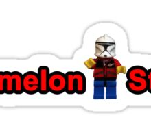 Watermelon Studios Sticker Art Sticker