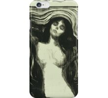 Edvard Munch - Madonna 2. Munch - woman portrait. iPhone Case/Skin