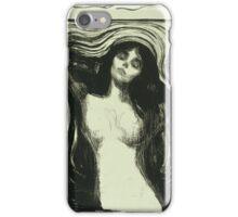Edvard Munch - Madonna 2. Munch - woman portrait. iPhone Case/Skin
