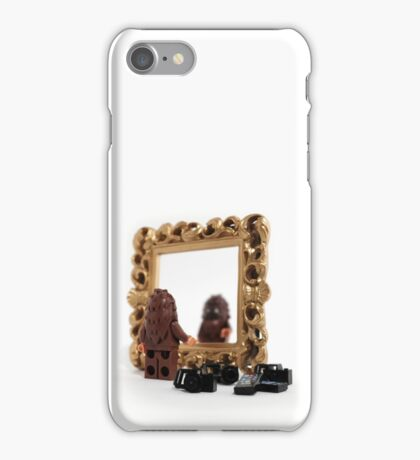 Bigfoot Problem: Blurry Selfies iPhone Case/Skin