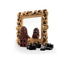 Bigfoot Problem: Blurry Selfies Photographic Print