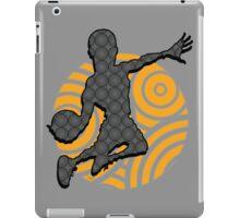 Basketball Player Geometric Hoops Pattern iPad Case/Skin