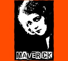 Maverick - Ode to Mary Pickford Womens Fitted T-Shirt
