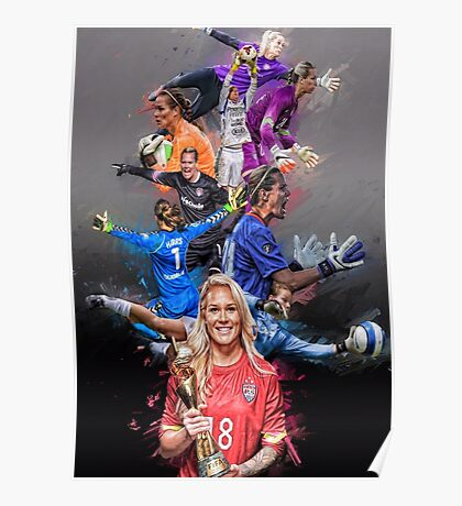 Ashlyn Harris From University of North Carolina to Orlando Pride + National Team Poster