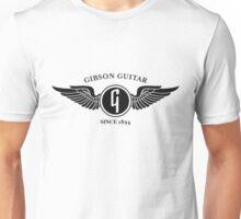 flying gibson logo Unisex T-Shirt