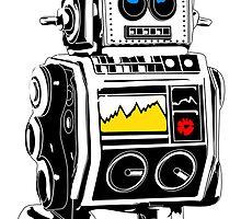 retro robot by pradeep kumar chauhan