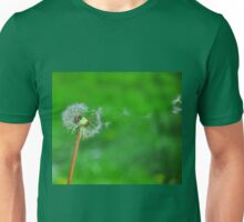 Dandelion Seeds Blowing Unisex T-Shirt