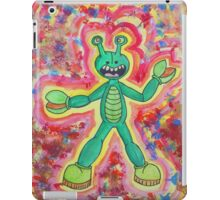 Sloppy Kid's Painting of Number 4 M.U.S.C.L.E. Figure Kani Base iPad Case/Skin