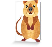 Q is for Quokka Greeting Card