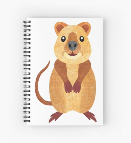 Q is for Quokka Spiral Notebook