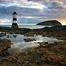 Lighthouse Reflections by Jeanie