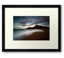 Welsh Waves Framed Print