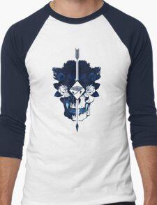 Blue Head Rush Men's Baseball ¾ T-Shirt