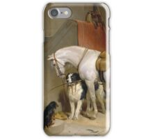 Edwin Landseer - Favourites, The Property Of Prince George Of Cambridge 1834.  Landseer  iPhone Case/Skin