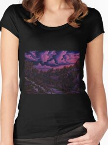 THE BREAK OF DAWN Women's Fitted Scoop T-Shirt