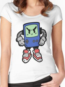 Game Punk - BLUE Version Women's Fitted Scoop T-Shirt