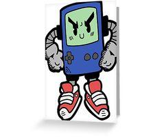 Game Punk - BLUE Version Greeting Card