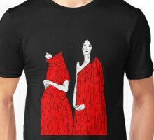 Gemini in Red by Allie Hartley  Unisex T-Shirt