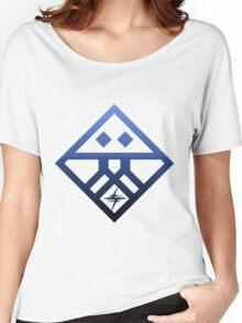 Kiznaiver Corporate Logo - blue Women's Relaxed Fit T-Shirt