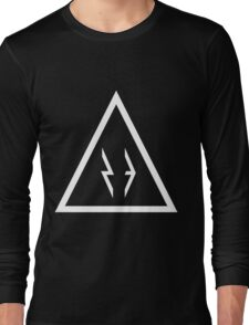 23 Triangle (White) Long Sleeve T-Shirt