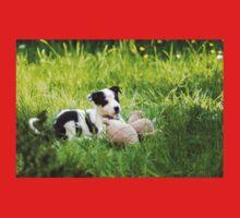 Border Collie Puppy Baby Tee