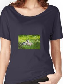 Border Collie Puppy Women's Relaxed Fit T-Shirt