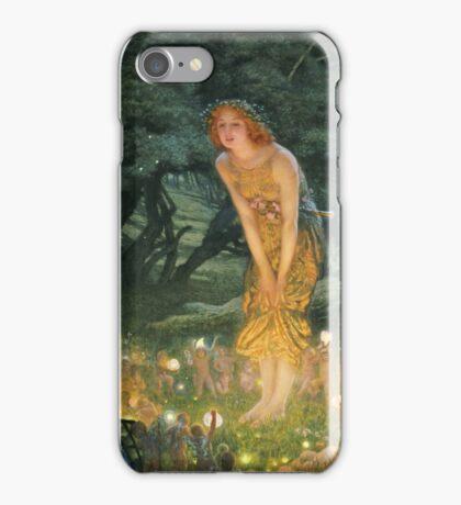 Edward Robert Hughes - Midsummereve.  Robert Hughes - woman portrait. iPhone Case/Skin