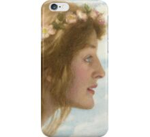 Edward Robert Hughes - Day.  Robert Hughes - woman portrait. iPhone Case/Skin